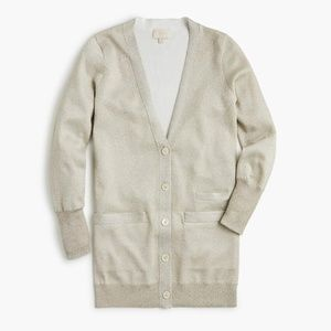 New J.Crew Collection Long Double-Knit Cardigan